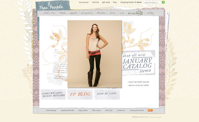 freepeople screenshot